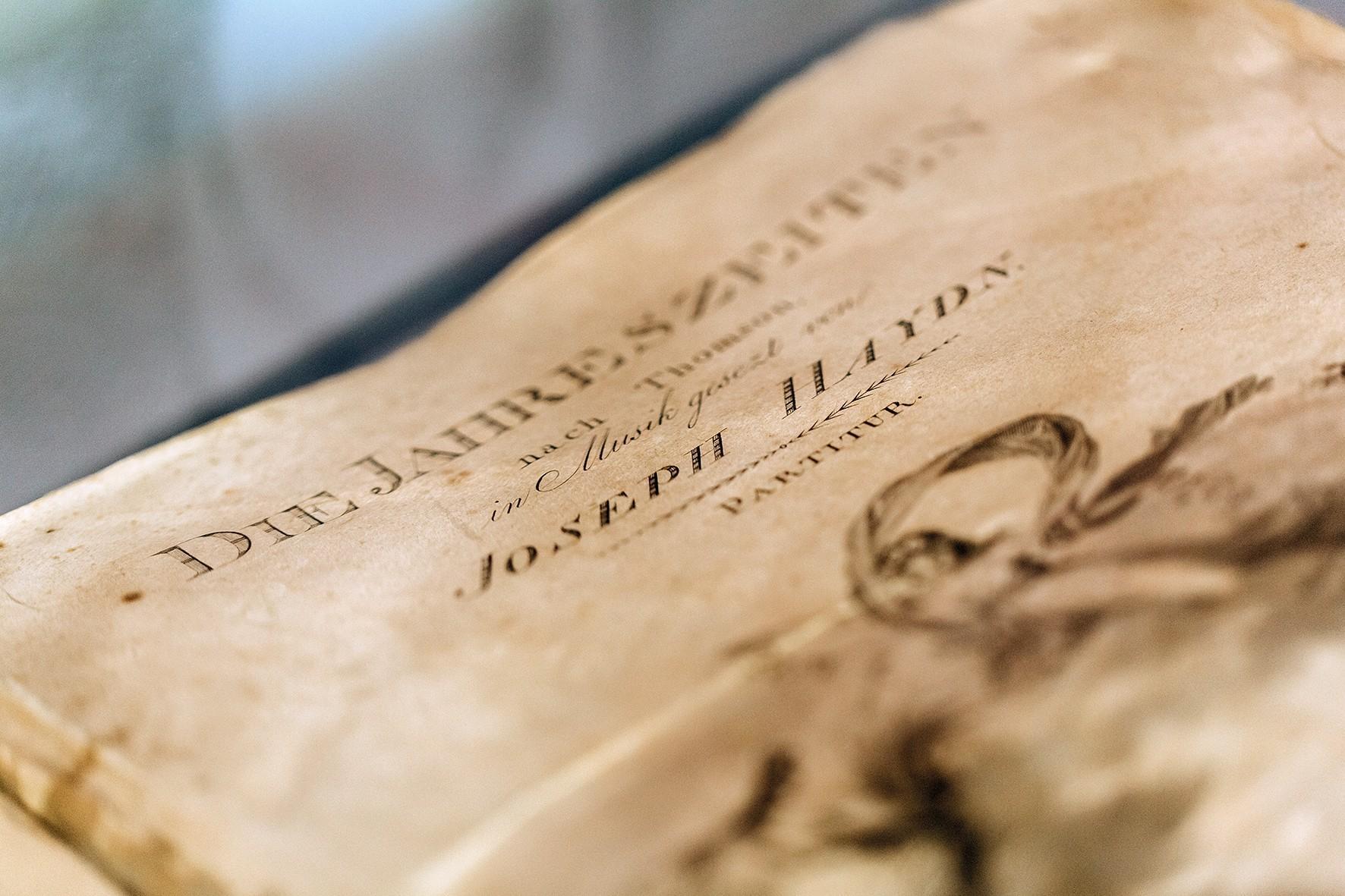 [Translate to Englisch:] Die Jahreszeiten von Joseph Haydn