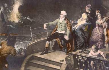 Haydn auf der Überfahrt, Foto: © AKG