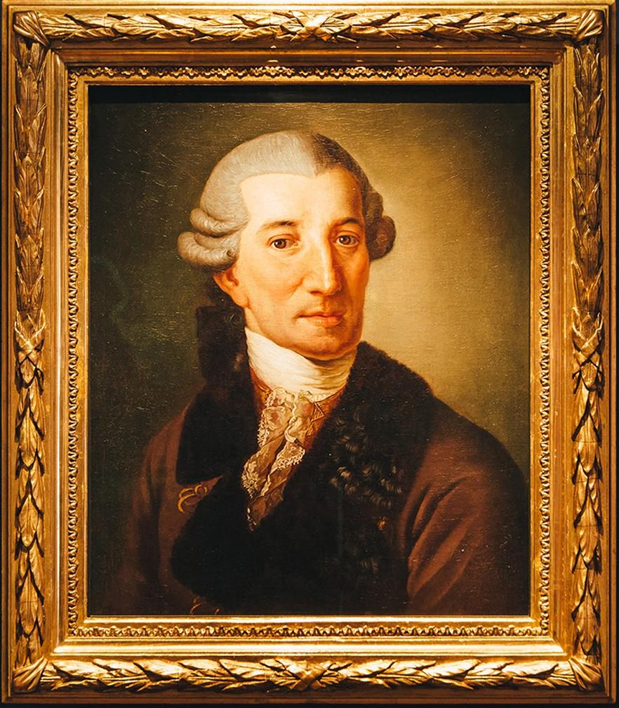 Haydn-Portrait von Christian Ludwig Seehas, Haydn Stiftung, Foto: © Heiling